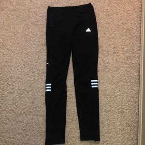 Black Adidas loose tights
